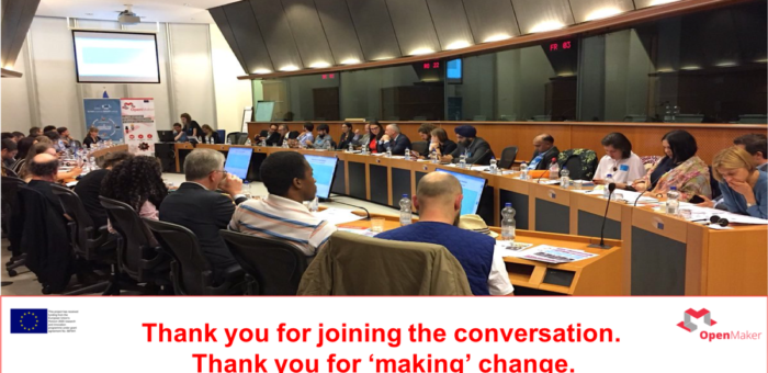Presentación en el Parlamento Europeo